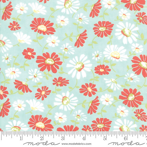 CATALINA 20371 14 Seafoam Daisy Moda FIG TREE Floral