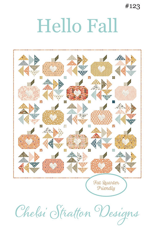 A Quilting Life HELLO FALL Fat Quarter Pattern