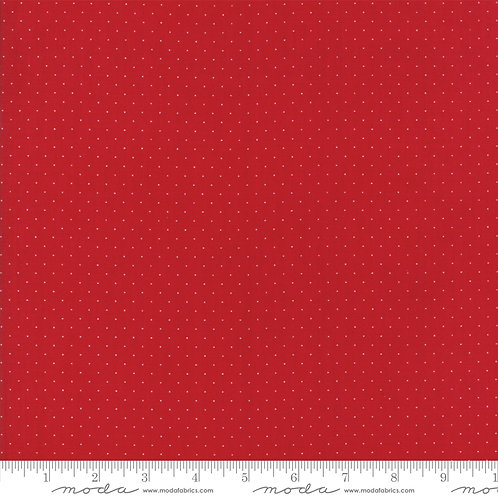 Provencal 21098 125 Red Pindots Moda American Jane