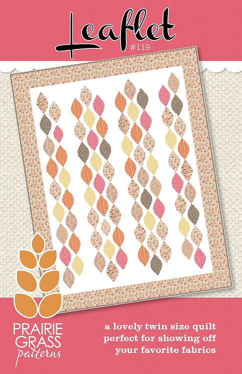 Priarie Grass LEAFLET Pattern