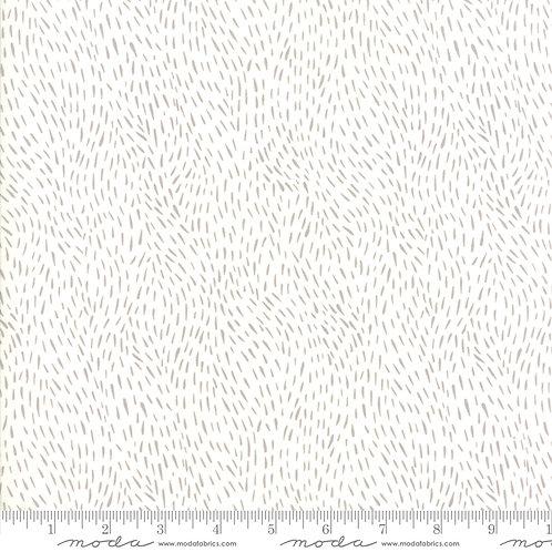 Merriment 48277 11 White Snow Moda GINGIBER