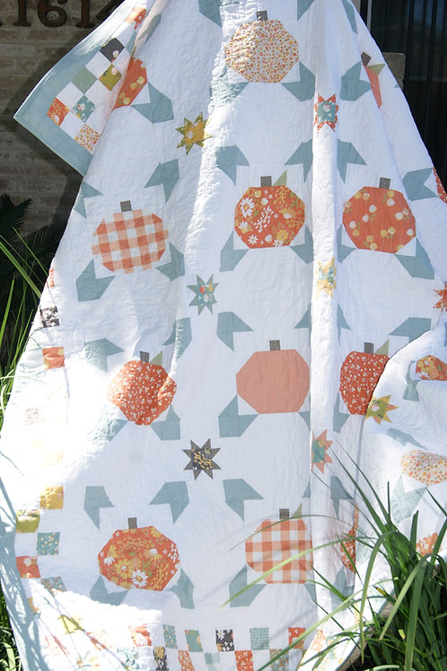 COZY PATCH Charm Quilt PATTERN Moda Pastry Shop