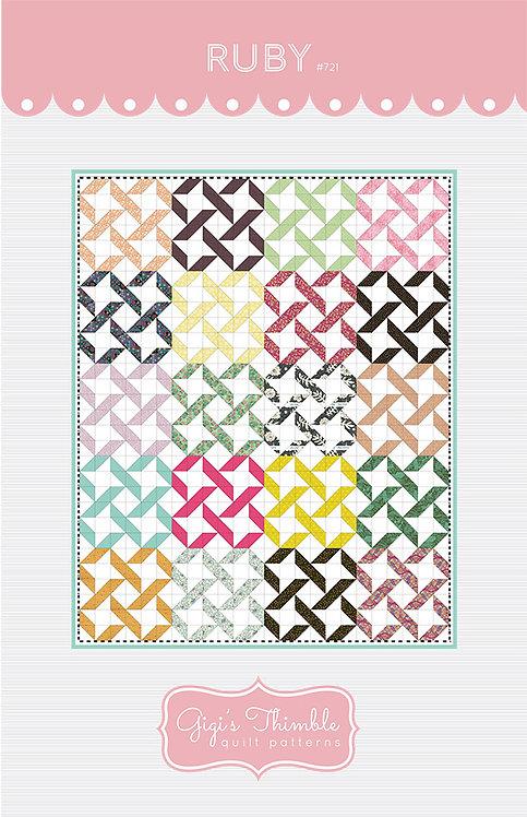 Gigi's Thimble RUBY Quilt Pattern