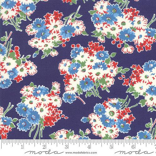 Good Times 21771 16 Navy Blue Floral Moda AMERICAN JANE