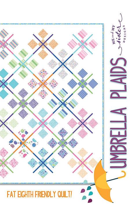 Me & My Sister UMBRELLA PLAIDS Fat Eighth Pattern