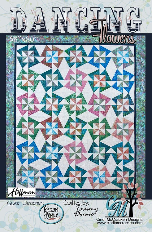 Cindi McCracken DANCING STARS Fat Quarter