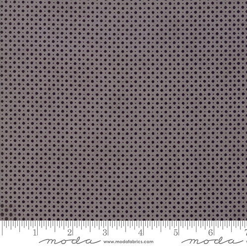 Metropolis 30569 17 Gray Black Polka Dots Moda BASIC GREY