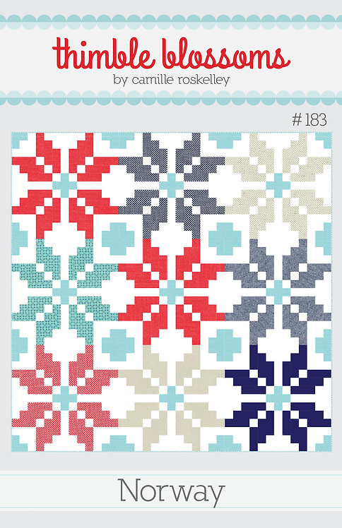 Thimble Blossoms NORWAY Pattern