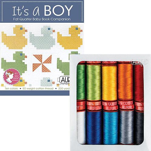 Aurifil Thread IT'S A BOY 10 It's Sew Emma 10 spools 50wt