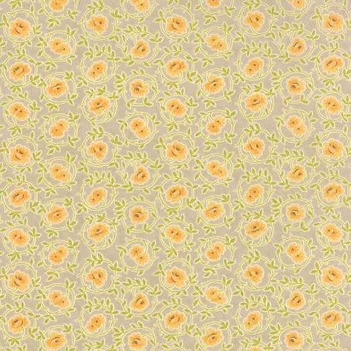 Somerset 20231 18 Tan Orange Floral Moda Fig Tree