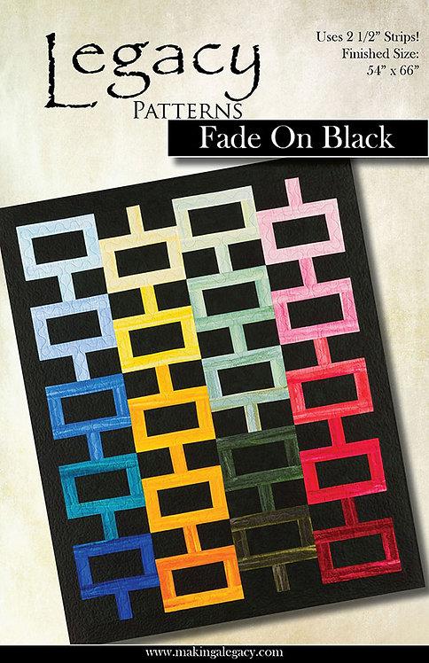 Legacy Patterns FADE ON BLACK Jelly Roll Pattern