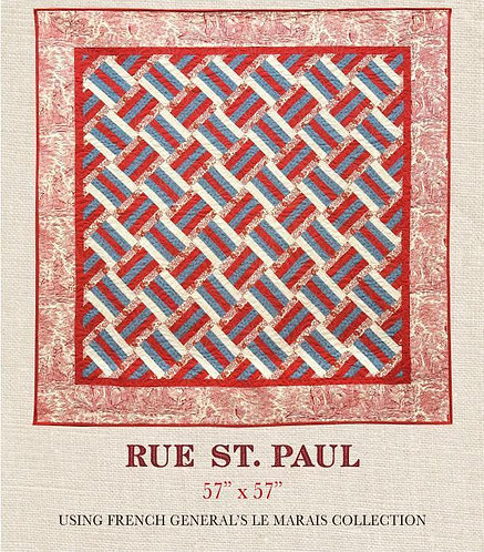 French General RUE ST PAUL Pattern