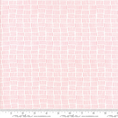 Bungalow 27298 34 Pink Tiles Tonal Moda Kate Spain