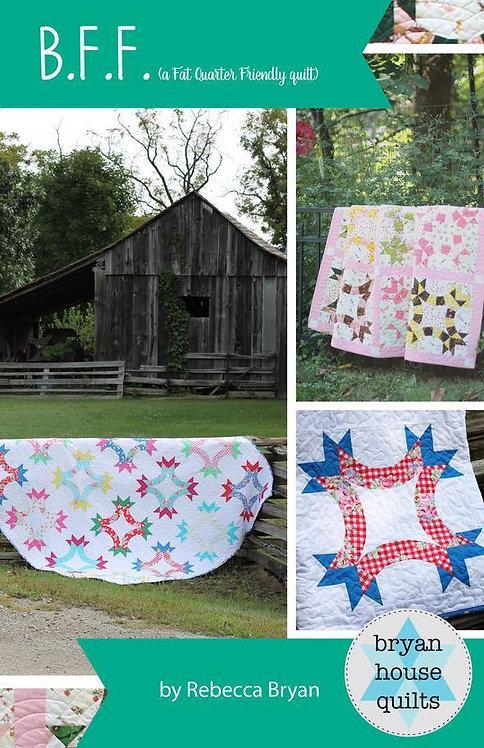 Bryan House Quilts B.F.F. Pattern