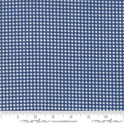 Essentially Yours 8653 56 Navy Check
