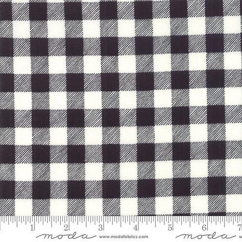 Homegrown Holidays 19897 13 Black White Check Moda Deb Strain