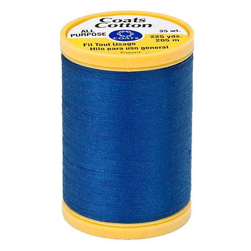 Coats & Clark Thread YALE BLUE 3 spools 30wt