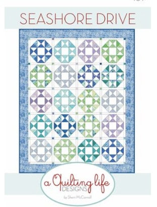A Quilting Life SEASHORE DRIVE Fat Eighth Pattern