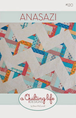 A Quilting Life ANASAZI Jelly Roll Pattern