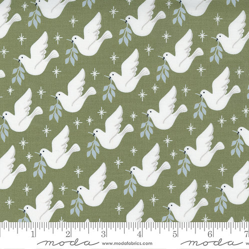 Christmas Morning 5141 15 Doves Moda Lella Boutique