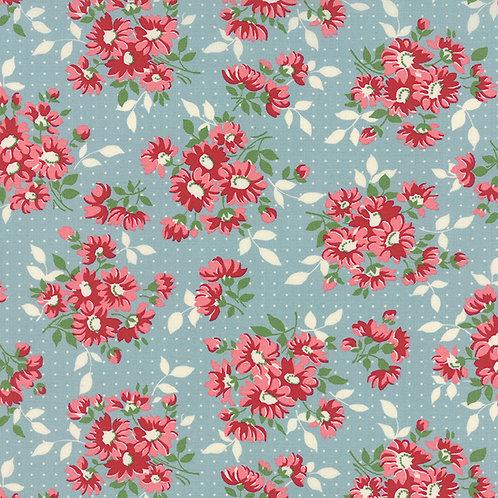 Bread n Butter 21690 15 Blue Floral Moda American Jane
