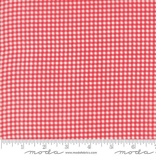 Essentially Yours 8653 21 Red Check Moda