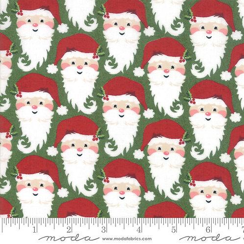 Kringle and Claus 30592 14 Green Santa Moda Basic Grey