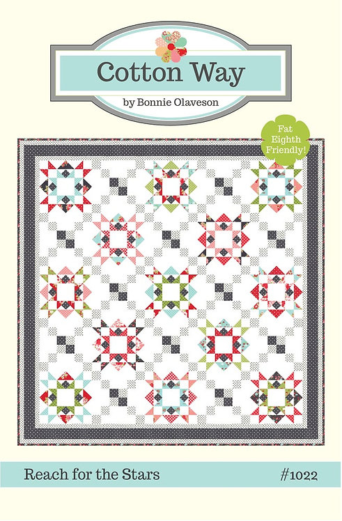 Cotton Way REACH FOR THE STARS Fat Quarter Pattern