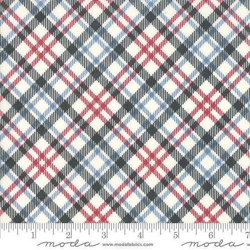 Branded 5786 14 Black Red Blue Plaid Moda Sweetwater