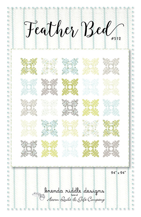 Brenda Riddle FEATHER BED Pattern