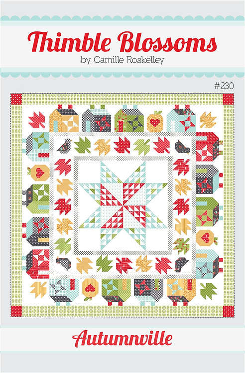 Thimble Blossoms AUTUMNVILLE Pattern