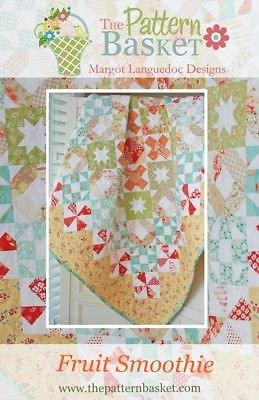 Pattern Basket FRUIT SMOOTHIE Layer Cake Pattern