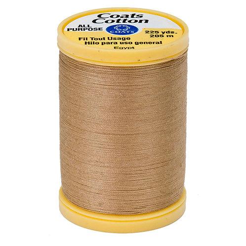 Coats & Clark Thread CAMEL 3 spools 30wt
