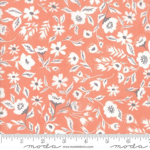 Garden Variety 5070 18 Orange Floral