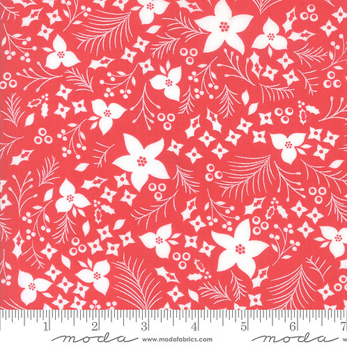 Holliberry 29091 22 Red Floral Moda Corey Yoder