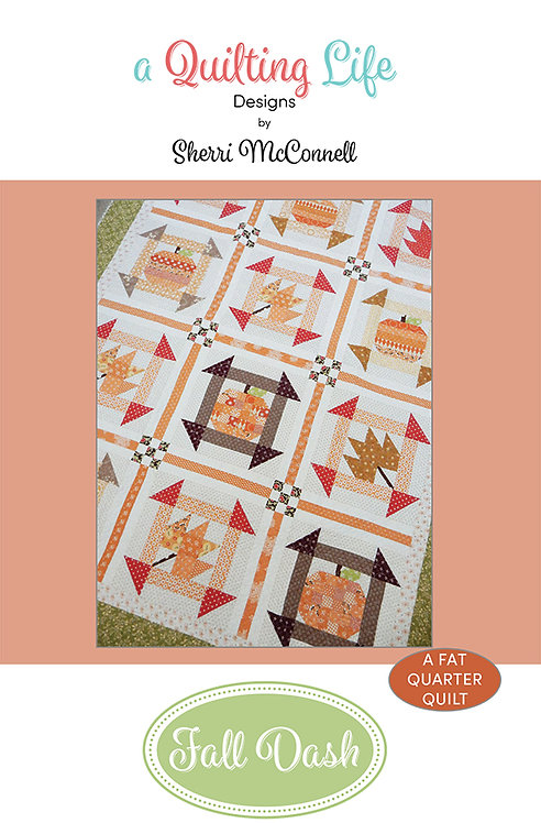 A Quilting Life FALL DASH Fat Quarter Pattern