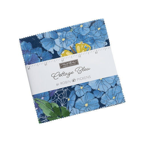 Cottage Bleu Moda Robin Pickens Charm Pack