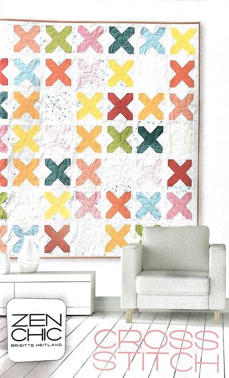 Zen Chic CROSS STITCH Quilt Pattern