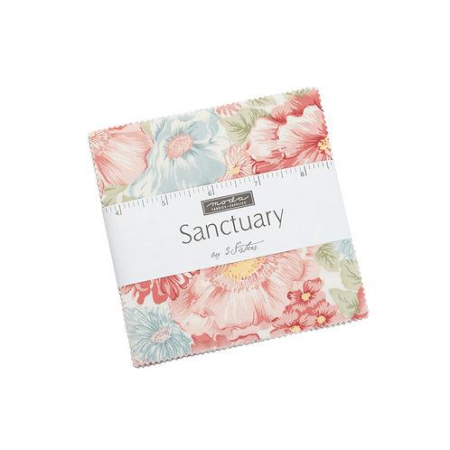 Sanctuary 3 Sister's Moda Charm Pack