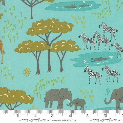 Safari Life 20643 20 Aqua Animals