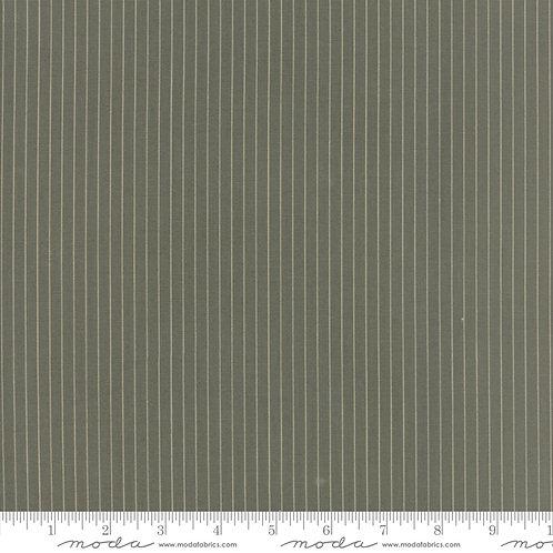 At Home 2798 13 Green Moss Stripe Moda Blackbird