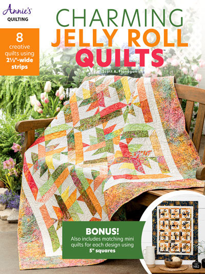 Charming Jelly Roll Quilts Quilt Book