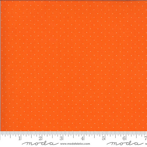 It's Elementary 21098 156 Orange Pindot Moda AMERICAN JANE