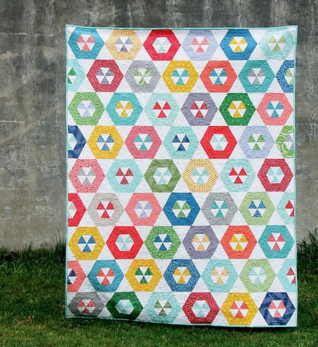 Cluck Cluck Sew HOOPLA Jelly Roll Pattern