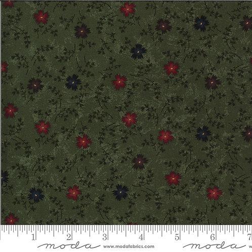 Bittersweet Lane 9642 15 Green Floral Moda Kansas Trouble