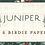 Thumbnail: Juniper 13205 11  Beige Snow Tonal Moda Katie & Birdie
