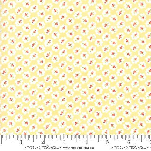 CATALINA 20372 18 Yellow Rosebud Moda FIG TREE Floral