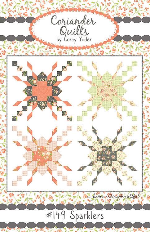 Coriander SPARKLERS Fat Quarter Pattern
