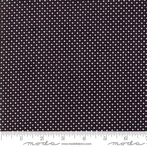 Metropolis 30569 18 Black White Polka Dot Moda BASIC GREY