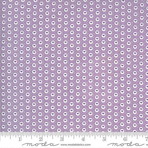 30's Playtime 33598  12 Lilac Hearts Moda Chloe's Closet